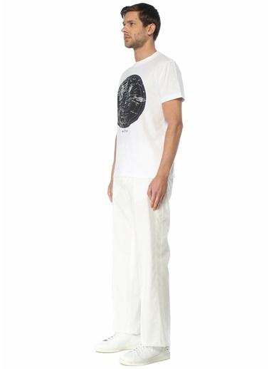 Valentino Valentino  Beli Kordonlu Bol Paça Pantolon 101619274 Beyaz